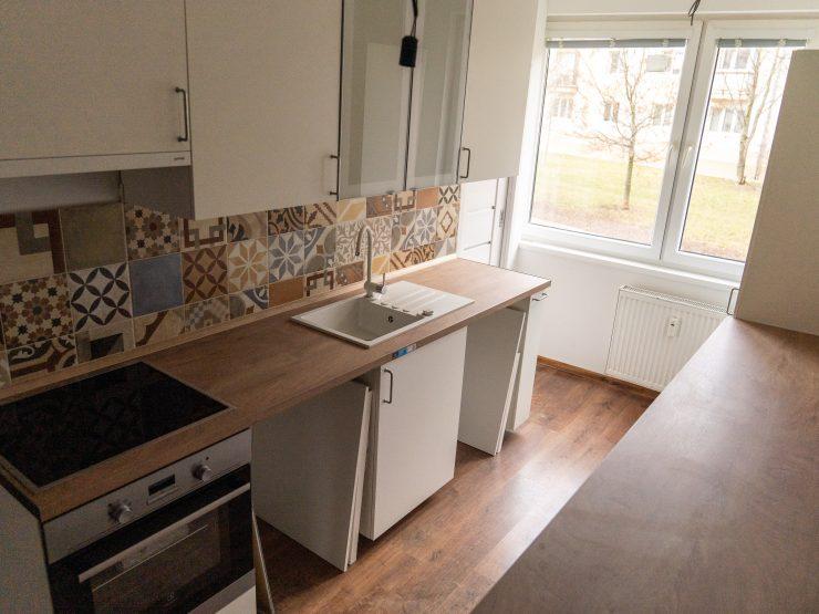 REZERVOVANÉ – kompletne zrekonštruovaný 3 izbový byt, Golianova ul.