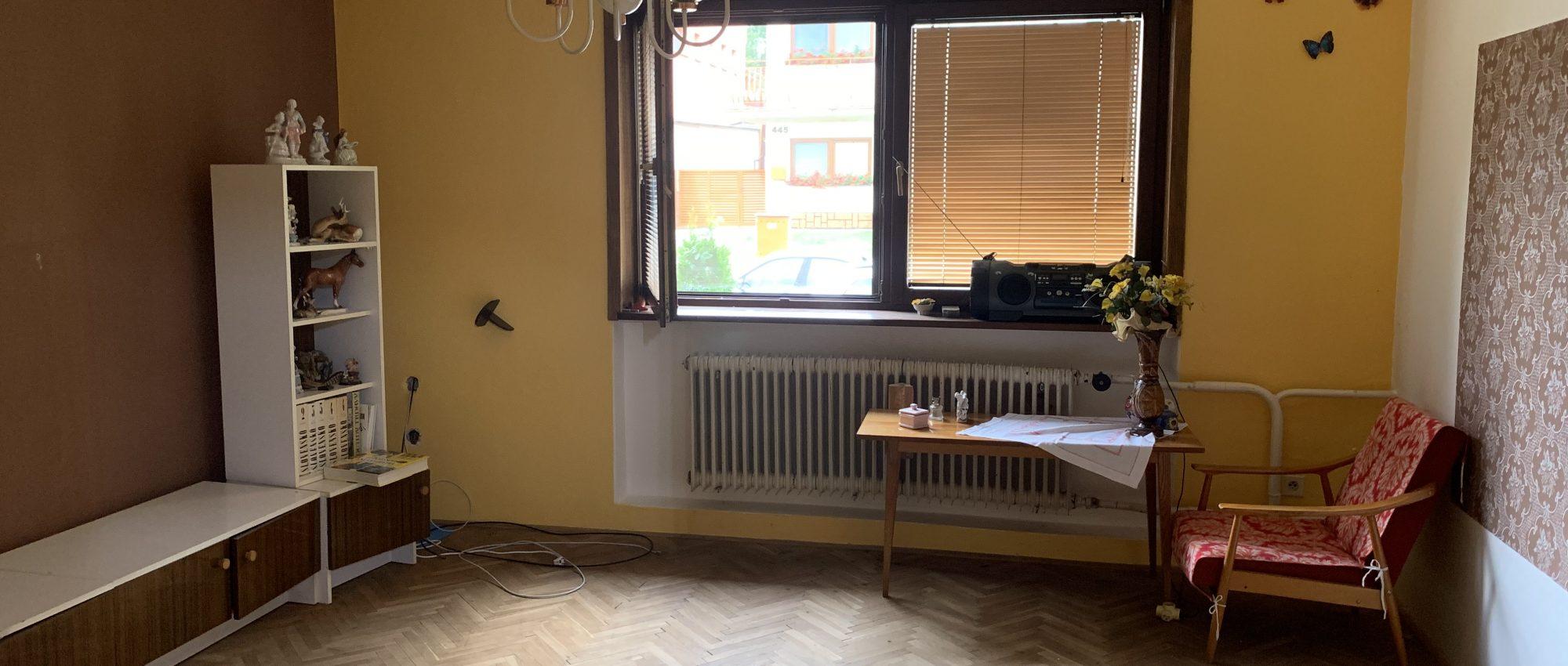 veľký 3 izbový byt s komorou a balkónom – Sereď